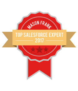 Mason Frank Top Salesforce Expert 2017
