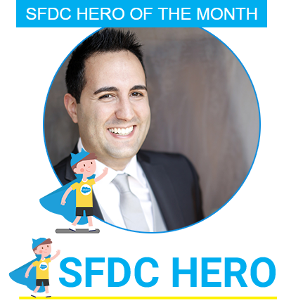 Salesforce Hero of the Month by Saasnic, March 2018