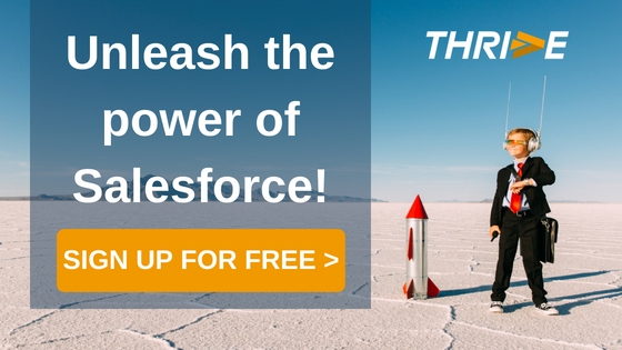 Unleash the power of Salesforce with Thrive for e-mail! Sign up for free!